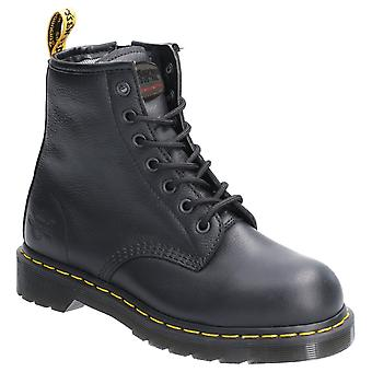 Dr. Martens Womens Maple Zip SB Lace Up Safety Boot Black