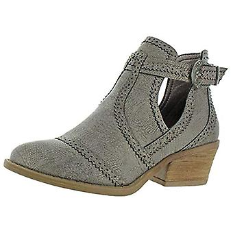 Very G Womens El Paso Faux Leather Ankle Booties