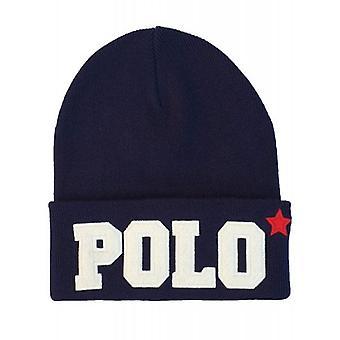 Ralph Lauren Polo pipo Hat miesten Varsity Navy