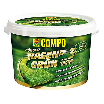 COMPO Lawn(d) Green, 3.75 kg