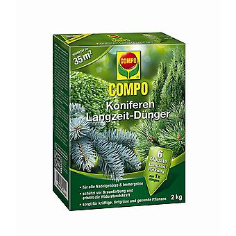 COMPO Conifers Long-term fertilizer, 2 kg