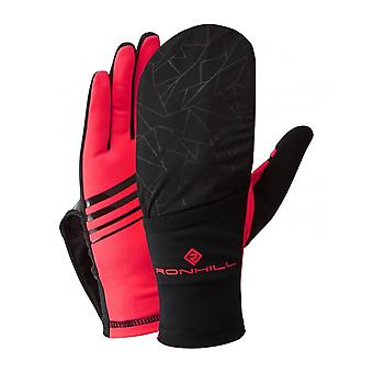 Ron Hill Womens Wind Block Flip Running Cycling Gloves