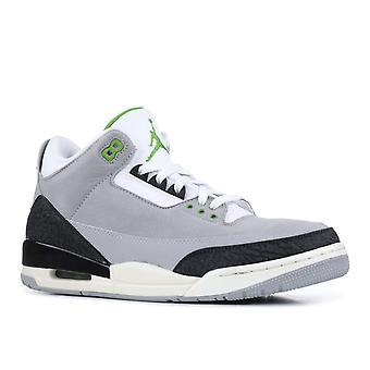 Air Jordan 3 Retro 'Chlorophyll' - 136064-006 - Shoes