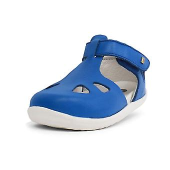 Bobux step up sapphire blue zap quick dry sandals