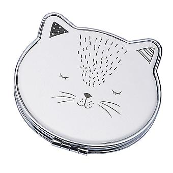Woofs & Whiskers Cat Compact Mirror