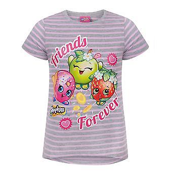 Shopkins Friends Forever Girl's T-Shirt
