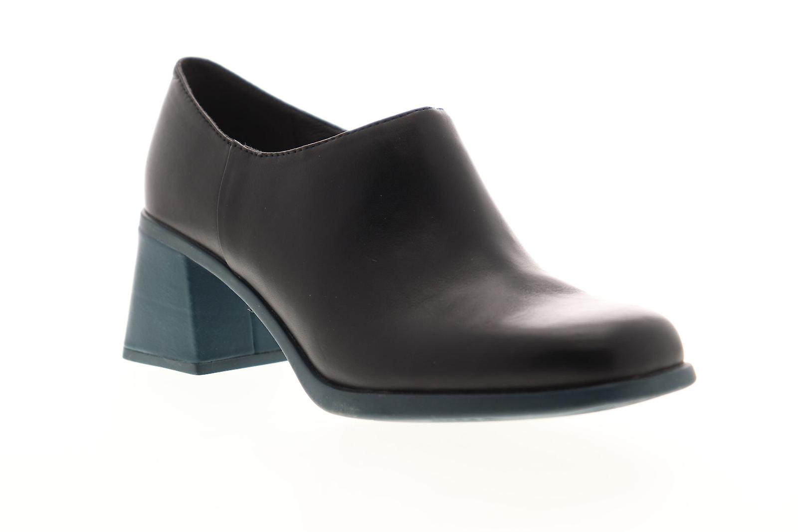 Camper Karolina Femmes Black Leather Slip On Casual Dress Boots - Remise particulière