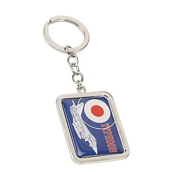 R.A.F. Official Licenced Product Silhouette Series Typhoon Keyring RAF134