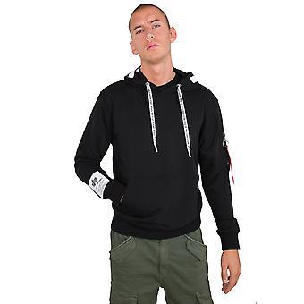 Alpha Industries Men's Hooded Sweater Alpha