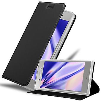 Case for Sony Xperia XZ1 Foldable Phone Case - Cover - with Stand Function and Card Slot