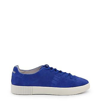 Man leather sneakers shoes b14903