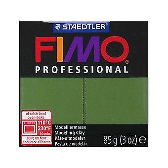 Fimo Professional Leaf Green 85G Block