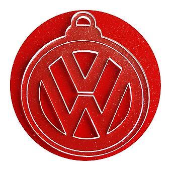 6 Pk VW 円クリア アクリルのクリスマスの装飾