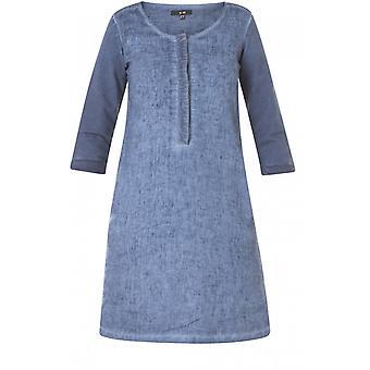 Yest Soft Blue Shift Dress