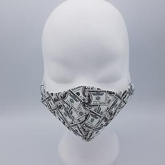 Streetwear cotton washable mouth mask - dollars