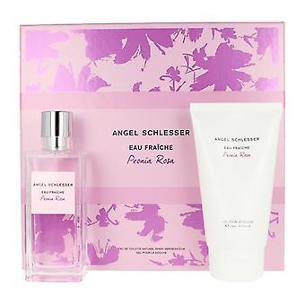 Women's Perfume Set Peonia Angel Schlesser EDT (2 pcs)