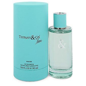 Tiffany & Love Eau De Parfum Spray By Tiffany 3 oz Eau De Parfum Spray