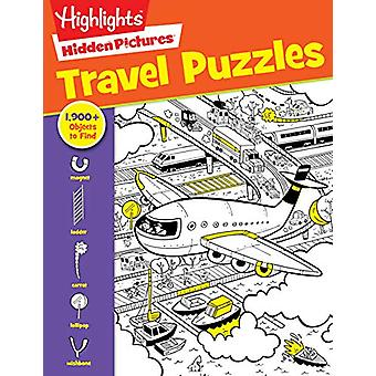 Travel Puzzles Hidden Pictures by Highlights - 9781684372676 Book