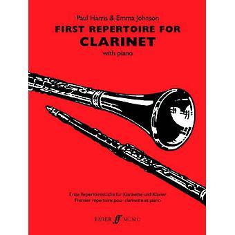 First Repertoire For Clarinet by Volume editor Paul Harris & Volume editor Emma Johnson