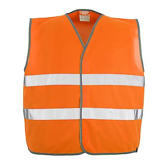 Mascot weyburn hi-vis traffic vest 50187-874 - safe classic, mens
