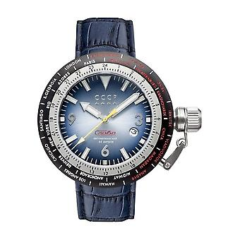 CCCP - Wristwatch - Herrren - RUSSIA TIMEZONE - CP-7053-02 - Smoky Blue / Blue
