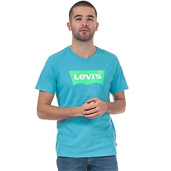 Men's Levis Housemark Graphic T-Shirt in blu