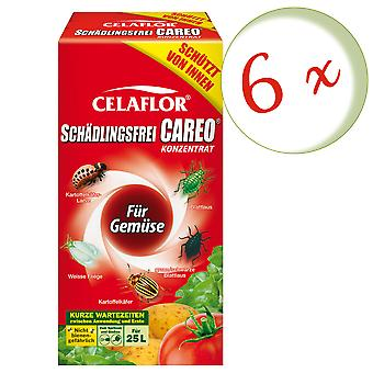 Sparset: 6 x SUBSTRAL® Celaflor® Pest-free Careo® concentrate for vegetables, 250 ml