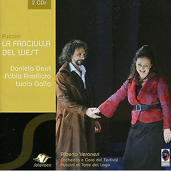 G. Puccini - Giacomo Puccini: La Fanciulla Del West [CD] USA import