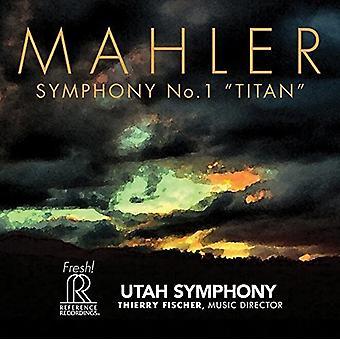 Mahler / Utah Symphony / Fischer - Symphony No. 1 Titan [SACD] USA import