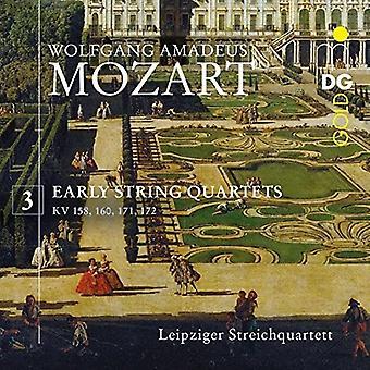 Mozart / Leipzig String Quartet - W.a. Mozart: Early String Quartets Vol 3 [CD] USA import