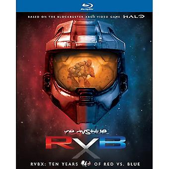 Rvbx: Ten Years of Red vs. Blue [BLU-RAY] USA import