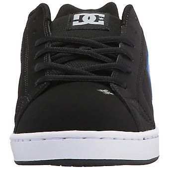 DC Mens Net Leather Low Top Lace Up Skateboarding Shoes