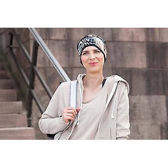 Sports chemo hat - Infinity Brown Sandy Step