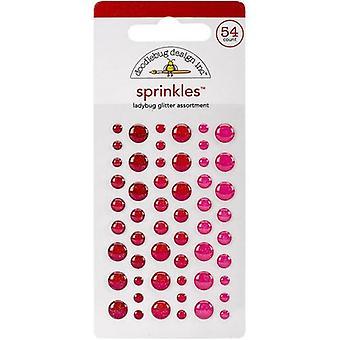 Doodlebug Design Coccinella Glitter Sprinkles (54pcs) (4535)