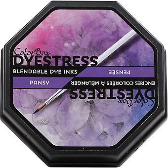 Clearsnap Colorbox Väritys Sekoitettava väriaine muste täysikokoinen pansy