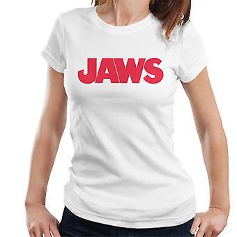 Jaws Text Logo Women's T-Shirt