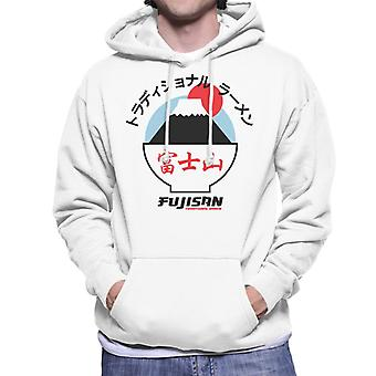 The Ramen Clothing Company Fujisan Traditional Ramen Black Text Men's Hooded Sweatshirt