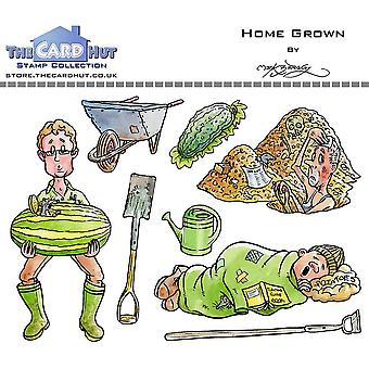 The Card Hut Home Grown Clear Stamps