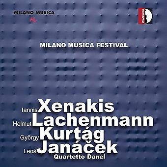 Quartetto Danel - Quartetto Danel Plays Xenakis, Lachenmann, Kurt G & Jan Cek [CD] USA import