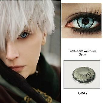 Beautiful Pupil Eye Cosmetic Colorful Contact Lens For Women - Halloween Cosplay Lenses