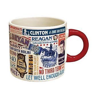 القدح - UPG - شعار رئاسي كأس قهوة جديد 978