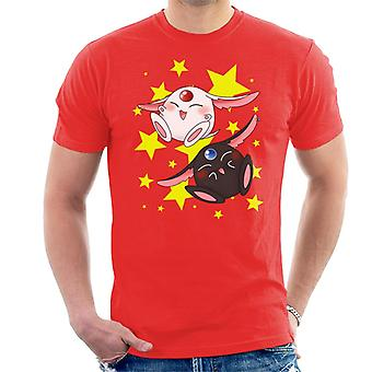Double Mokona Stars Tsubasa Reservoir Chronicle Men's T-Shirt