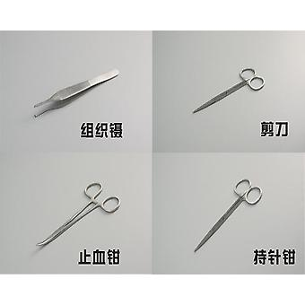 Dental Simulation Oral Suture Model With Needle Gum Suture Teaching Training Equipment Skill Practice