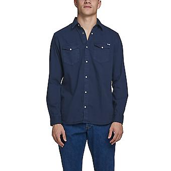 Jack & Jones Men's Western-Inspired Shirt Slim Fit Essentials