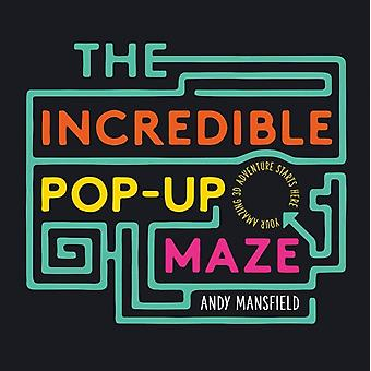 The Incredible PopUp Maze by Mansfield & Andy