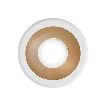Ideaal Lux VIRUS - Geïntegreerde LED Indoor Ingebouwde Downlight Lamp 1 Licht WitGoud 3000K