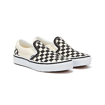 Vans Classic Slip-On Checkerboard Youth Off White / Black Trainers