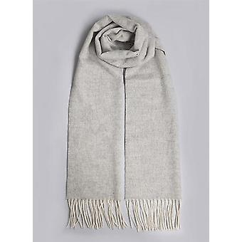 Charcoal Marl Lambswool Winter Scarf
