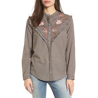 Lucky Merkevare | Brodert Western Skjorte