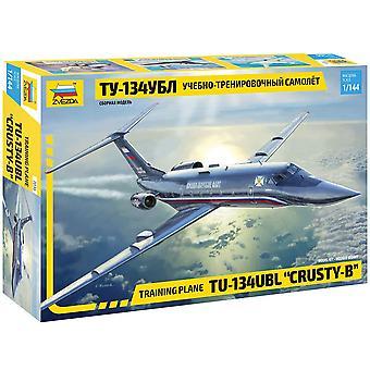 Zvezda Z7036 Tupolew Tu-134 Ubl Training Plane 1:144 Plastic Model Kit